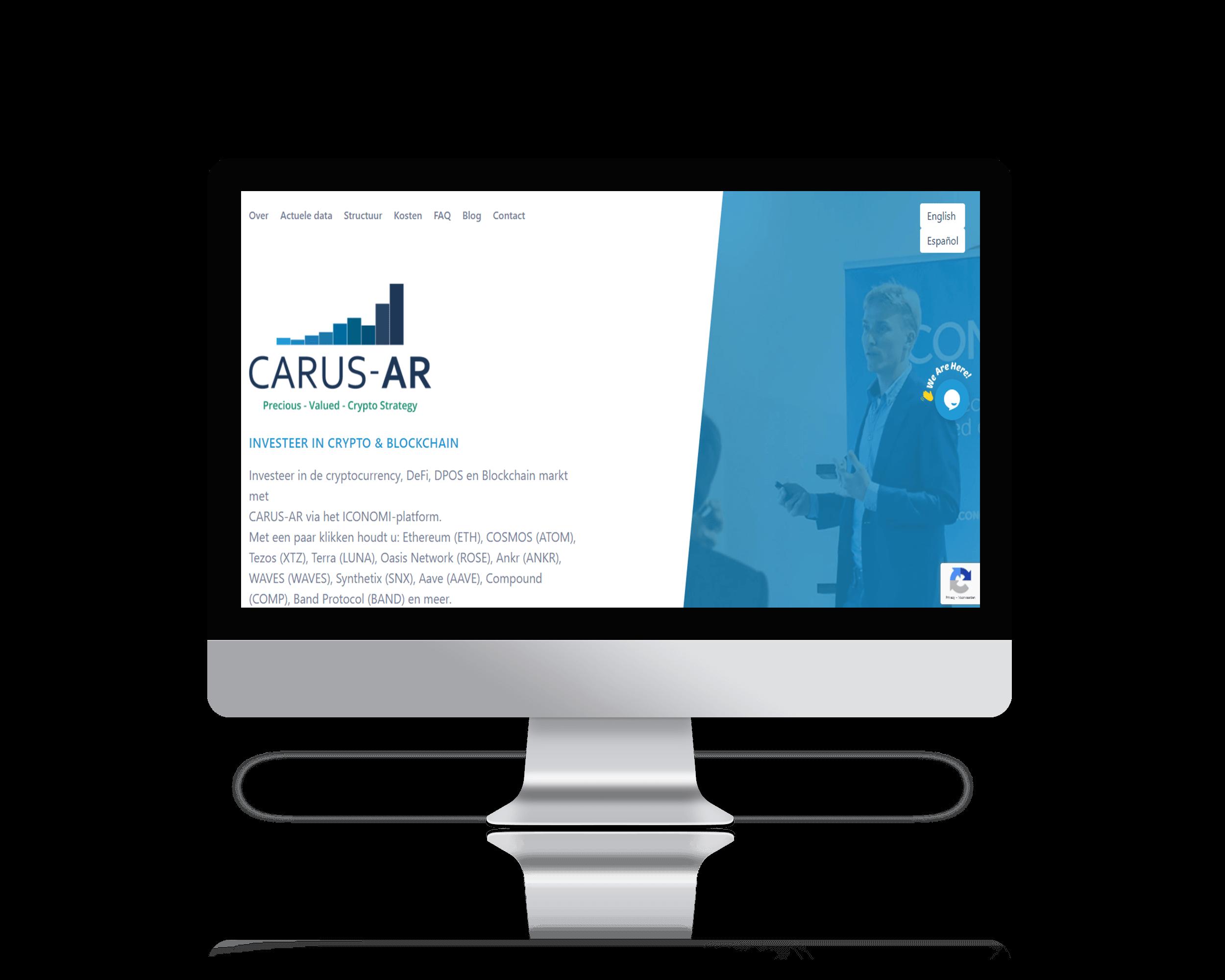 carus-ar website